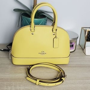 Coach Yellow Dome Small Satchel